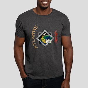STS 122 Atlantis NASA Dark T-Shirt