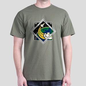 STS 122 Atlantis Dark T-Shirt