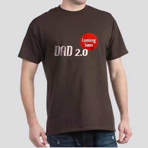 Dad 2.0 Expectant Father Dark T-Shirt
