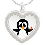 Penguin With Coconut Necklaces