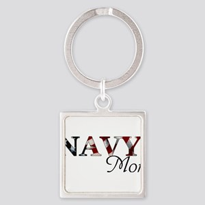 Mom Navy/Flag Keychains