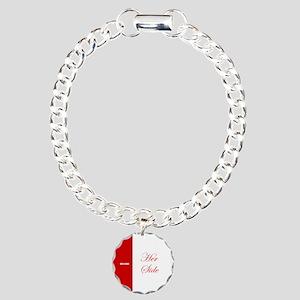 His Side Her Side 3 red Bracelet