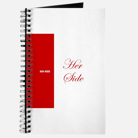 His Side Her Side 3 red Journal