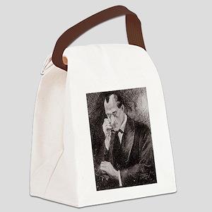 Skerock Holmes illustrations Canvas Lunch Bag