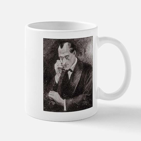 Skerock Holmes illustrations Mugs