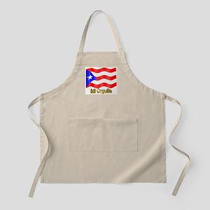 Bandera de Puerto Rico BBQ Apron
