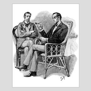 Skerock Holmes illustrations Posters