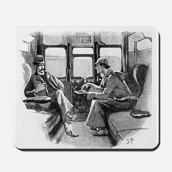 Skerock Holmes illustrations Mousepad