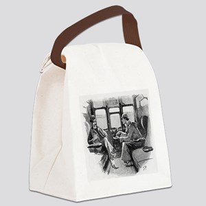 Skerock Holmes illustrations Canvas Lunch Bag