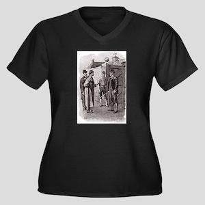 Skerock Holmes illustrations Plus Size T-Shirt