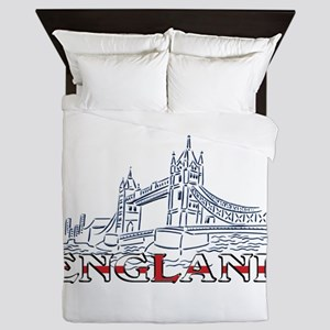 England: Tower Bridge Queen Duvet