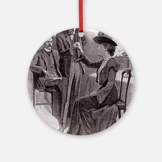 Skerock Holmes illustrations Ornament (Round)