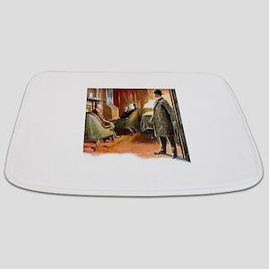 Skerock Holmes illustrations Bathmat