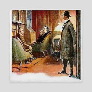 Skerock Holmes illustrations Queen Duvet