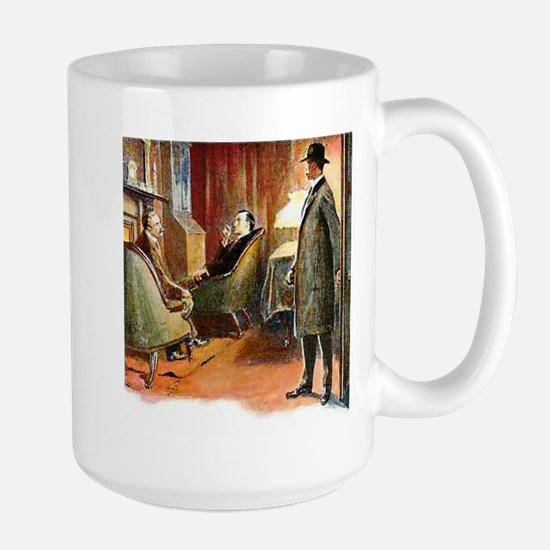 Skerock Holmes illustrations Mugs