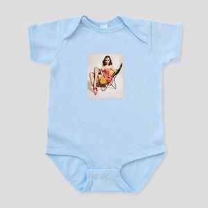 Vintage Pin-Up Infant Bodysuit