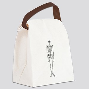 skeleton Canvas Lunch Bag