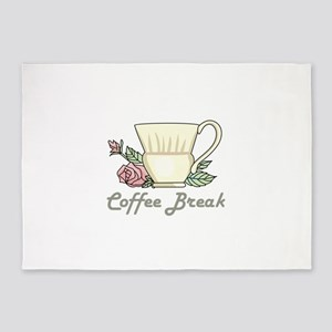 Coffee Break 5'x7'Area Rug
