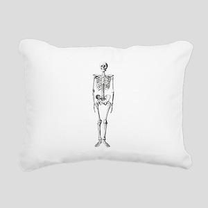 skeleton Rectangular Canvas Pillow