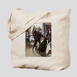 Skerock Holmes illustrations Tote Bag