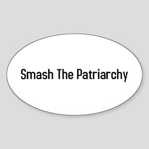 Smash the Patriarchy Oval Sticker