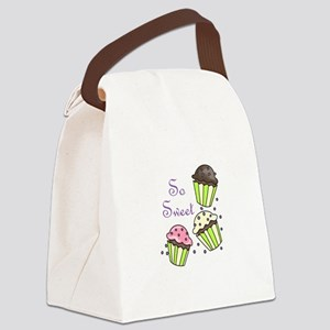SO SWEET Canvas Lunch Bag