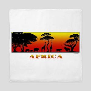 African Savanna Queen Duvet