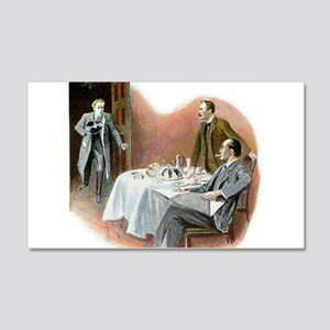Skerock Holmes illustrations Wall Decal