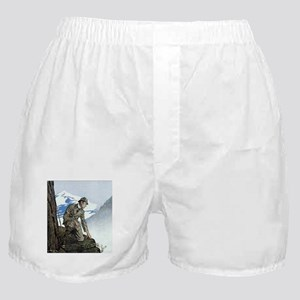 Skerock Holmes illustrations Boxer Shorts