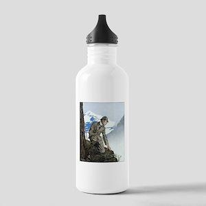 Skerock Holmes illustrations Water Bottle