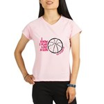 Play Basketball Like a Gir Performance Dry T-Shirt