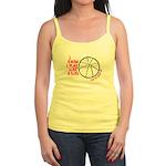 Play Basketball Like a Girl Jr. Spaghetti Tank