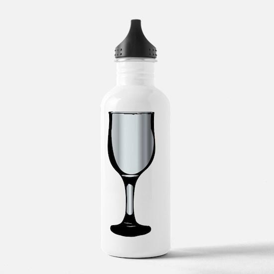 Cute 70th birthday wine glass Water Bottle