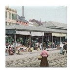 Old French Market Tile Coaster