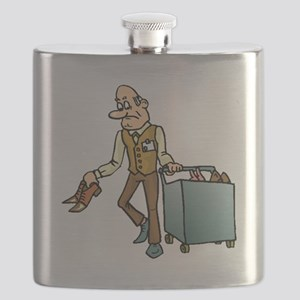Shoe Salesperson Flask