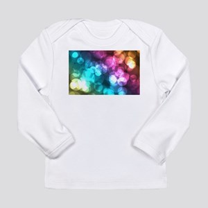 rainbow glitter Long Sleeve T-Shirt