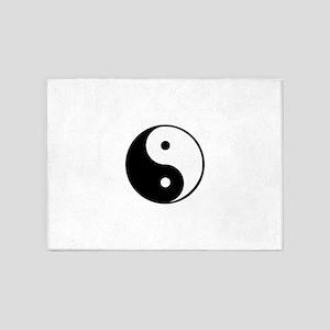 yin yang 4 3000 5'x7'Area Rug