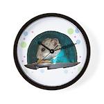 Spaceship Abby Wall Clock