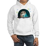 Spaceship Abby Hooded Sweatshirt