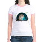Spaceship Abby Jr. Ringer T-Shirt