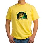 Spaceship Abby Yellow T-Shirt