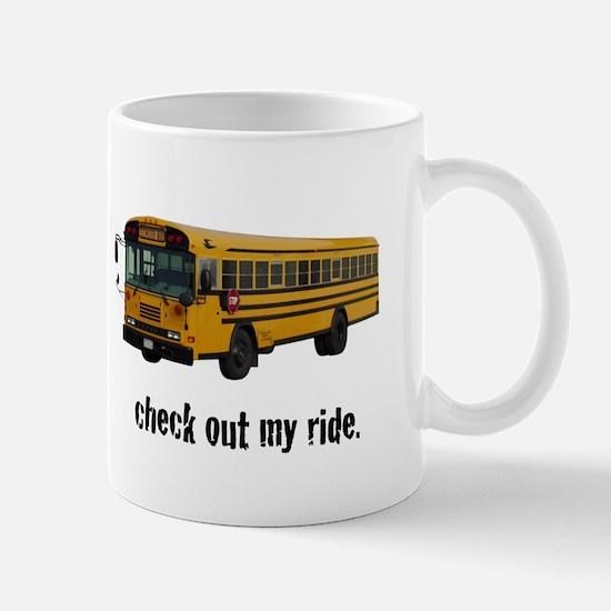My Big Yellow Ride Mug