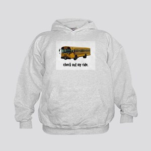 My Big Yellow Ride Kids Hoodie