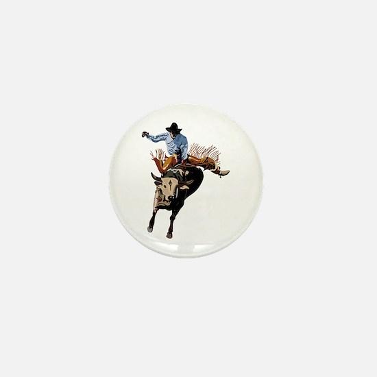 BULLRIDER Mini Button