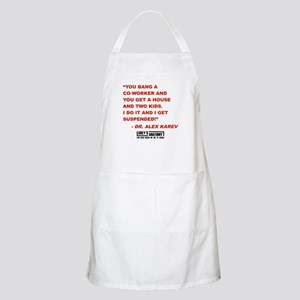 SUSPENDED! Apron