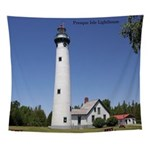 Presque Isle Lighthouse Wall Tapestry