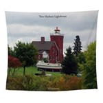 Two Harbors Lighthouse Wall Tapestry