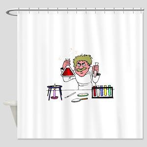 Scientist Shower Curtain