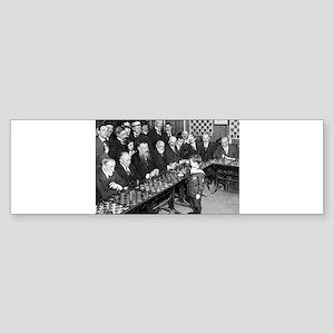 Samuel Reshevsky vs. The World Bumper Sticker