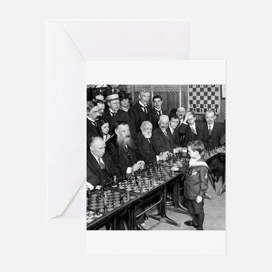 Samuel Reshevsky vs. The World Greeting Cards